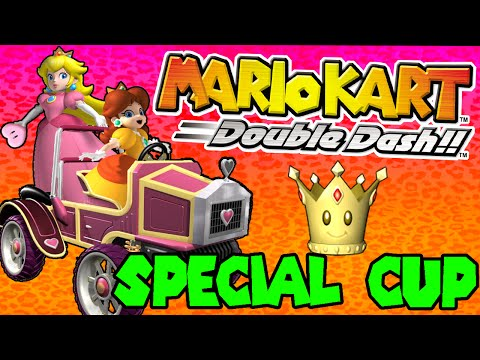 ABM: Mario Kart Double Dash (Special Cup)  Peach & Daisy Gameplay HD!!