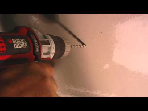 How to install drywall plastic anchors ( Conical Anchor) in this video