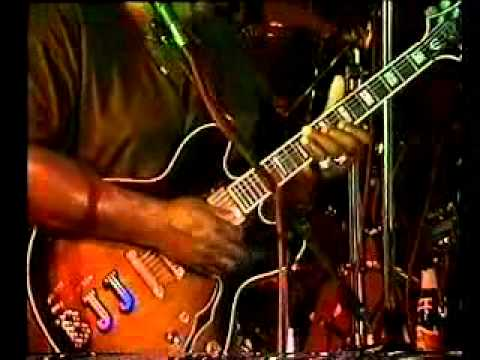 big jack johnson the hero of Clarksdale Mississippi live at Torrita Blue 1998