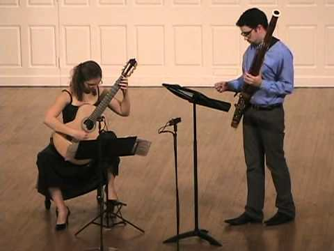 Katrin Endrikat and Michael Zuber live at the Yale School of Music Chamber concert
