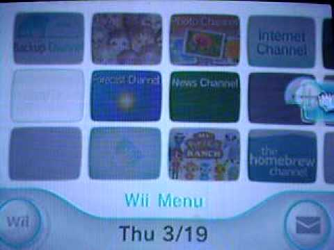 moving the disk channel on wii