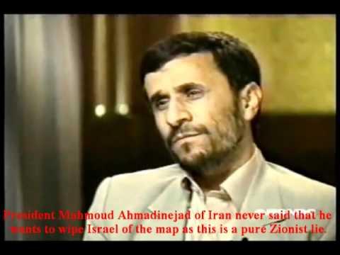 Iran's President on Israel/Holocaust.