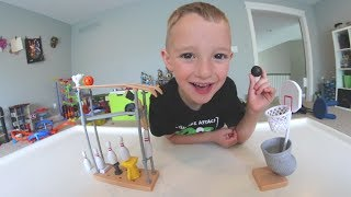 FATHER SON BASKETBALL TRICK SHOT! / Hardest ever!
