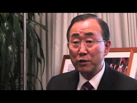 Behind the scenes with UN Secretary-General Ban Ki-moon