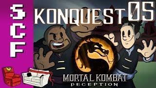 Mortal Kombat: Deception (Konquest Mode) - Part 5! Super Couch Fighters: Arcade Mode!