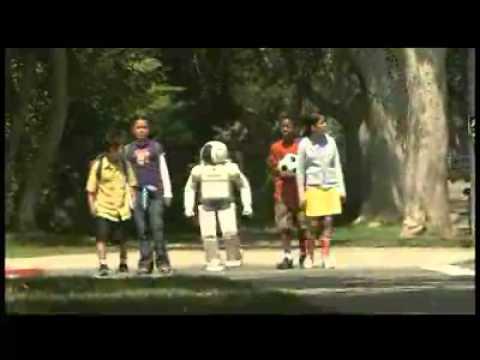 "ASIMO ""Step to Safety"" PSA"
