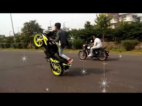 Zamil Zamil Song Arabic Music-Bike Stunt