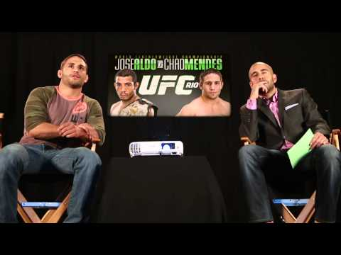 UFC 179 Film Room with Chad Mendes