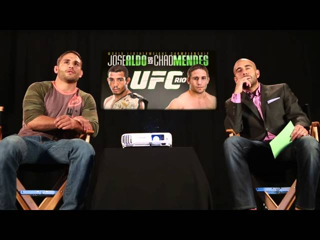 UFC 179: Film Room with Chad Mendes