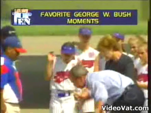 BUSH: The 10 most stupid moments of his life