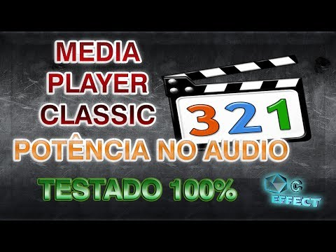 POTÊNCIA NO AUDIO MEDIA PLAYER  CLASSIC HOME CINEMA 100%