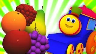 Bob, chuyến tàu   học trái cây với bob   Fruits for Kids   Bob Fruit Train