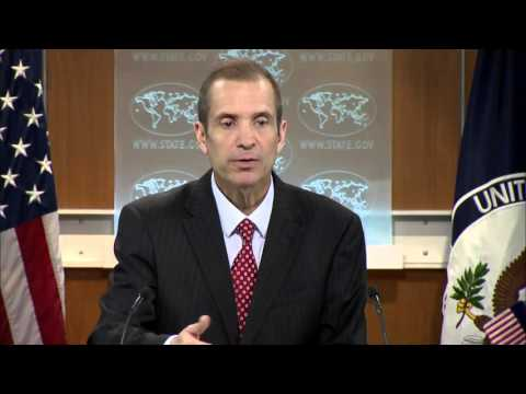 State Dept: Russia sanctions - Is US pressing Europe? 16 Mar 2016