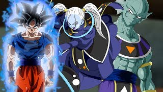 """Dragonball Characters With """" Ultra Instinct """""""