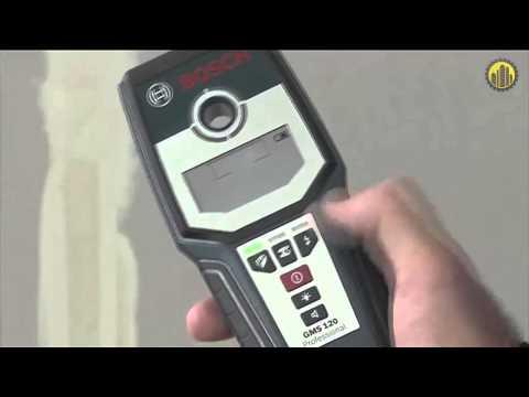 bosch gms 120 wall scanner manual