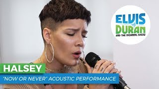 "download lagu Halsey - ""now Or Never""  Elvis Duran Live gratis"