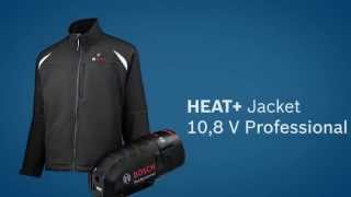 Bosch Blue Professional Power Tools - 10.8V Heated Jacket