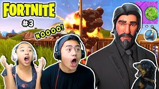 Fortnite Battle Royale Gameplay #3 (So Close To Victory Royale!) | Tier 100 John Wick - The Reaper