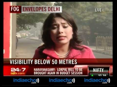 Fog In Delhi -15 Flights Cancelled, 74 Delayed - Indiaecho.com
