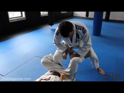 Passing De La Riva guard - Shawn Williams Part 1 - Jits Magazine
