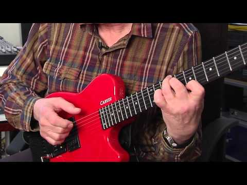 Carvin Allan Holdsworth- talks about his HH series signature guitars