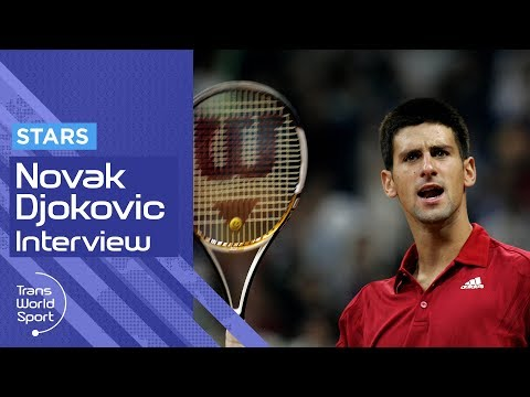 Young Novak Djokovic on Trans World Sport