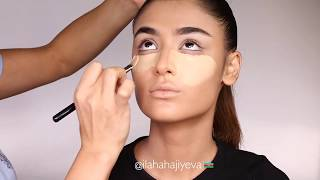 Simple beautiful make-up from Ilaha Hajiyeva