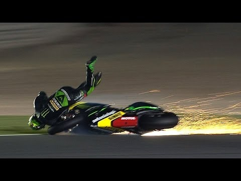 MotoGP™ Qatar 2014 -- Biggest crashes
