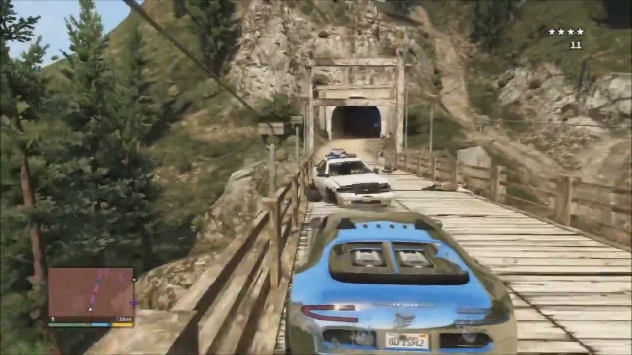 Image Result For Gta V Mount Chiliad Police Chase Youtube