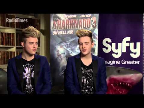 "Jedward | Radio Times | ""Sharknado 3"" Promo - Speaking about Tara Reid"
