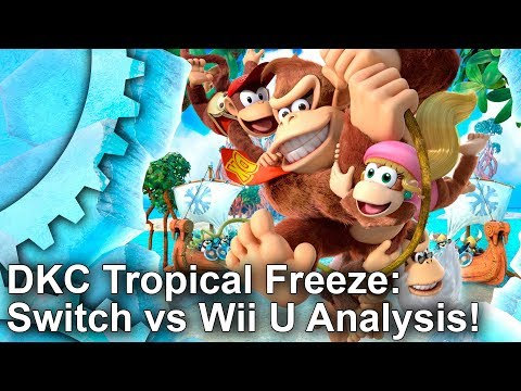 Donkey Kong Country Tropical Freeze - Switch vs Wii U: What Are The Improvements?