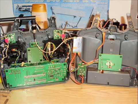 Hitec Optic 6 + Corona 2.4Ghz DIY Module & RX DSSS