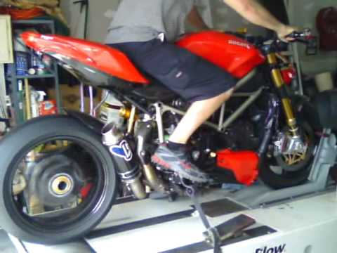 ducati streetfighter exhaust dyno tuning shift. Black Bedroom Furniture Sets. Home Design Ideas