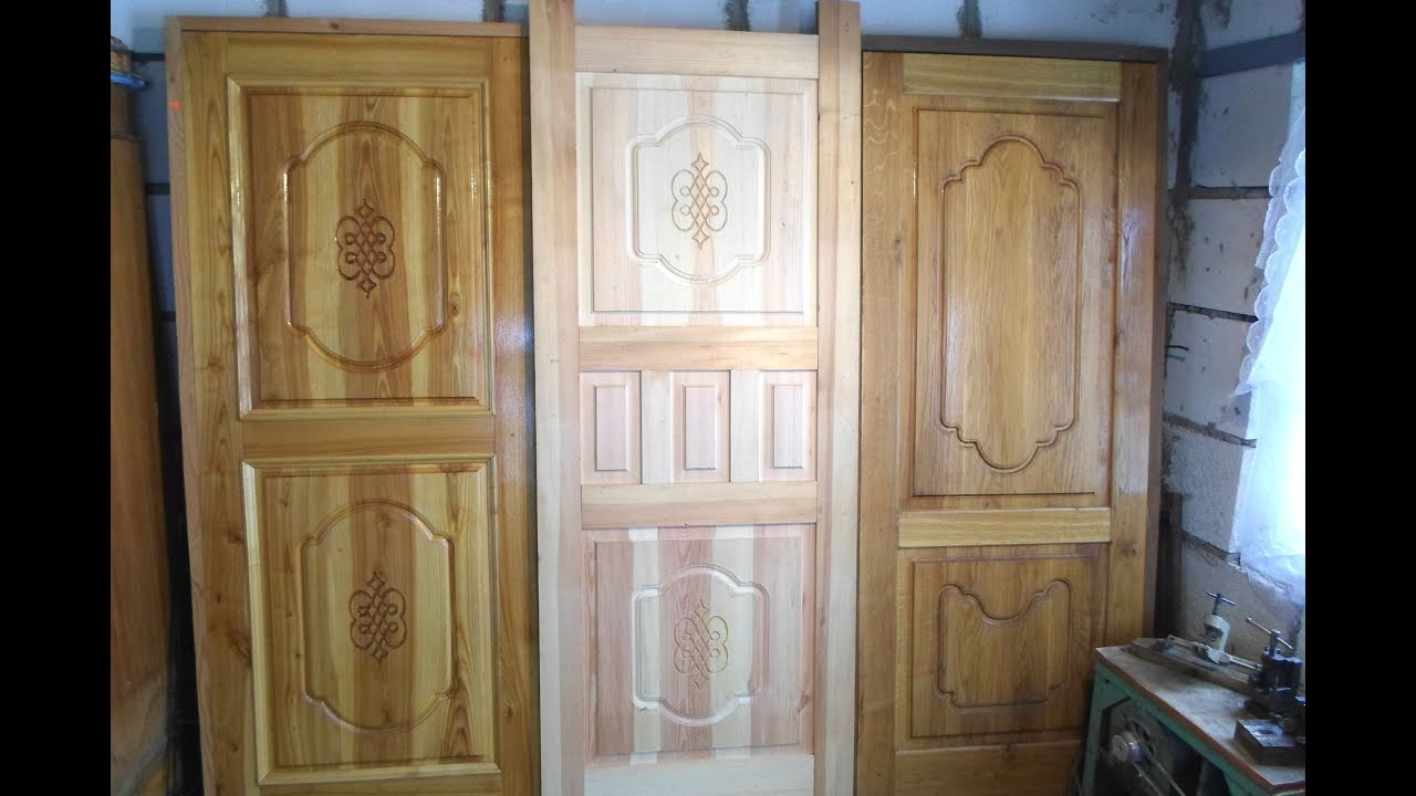 Двери из массива своими руками 88