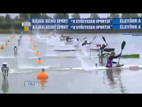 SZEGED 2013 MEN K1 200 ICF CANOE SPRINT WORLD CUP 1