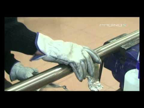Proinox pulido y satinado en tubo redondo de acero - Tubo redondo acero ...