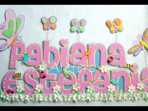 Cómo hacer letras de feliz cumpleaños con foami - Imagui