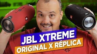 JBL XTREME ORIGINAL X RÉPLICA - O melhor comparativo da internet