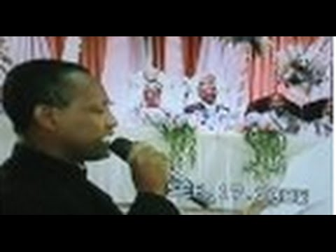 Wedding poems in Amharic by Author,Theologian, & Famous Poet Melaku Asmamaw part 1 of 2