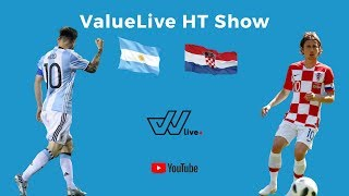 ValueLive // World Cup HT Show // Argentina v Croatia // 21.06.18 // Sports & Betting Show