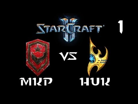 StarCraft 2 - MKP [T] vs HuK [P] G1 (Commentary)
