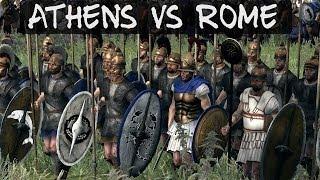 Total War Rome 2 Online Battle 49 Athens vs Rome