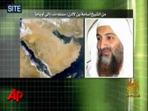Al Qaeda terrorist leader Osama bin Laden releases new audio tape - Friday 1 October 2010