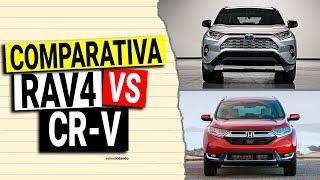 Comparativa TOYOTA RAV4 VS HONDA CRV 2019