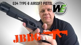 we g34 airsoft pistol