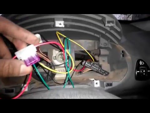 Car GPS Tracker - Easy Install Video On Hyundai Santro India Car Tracker