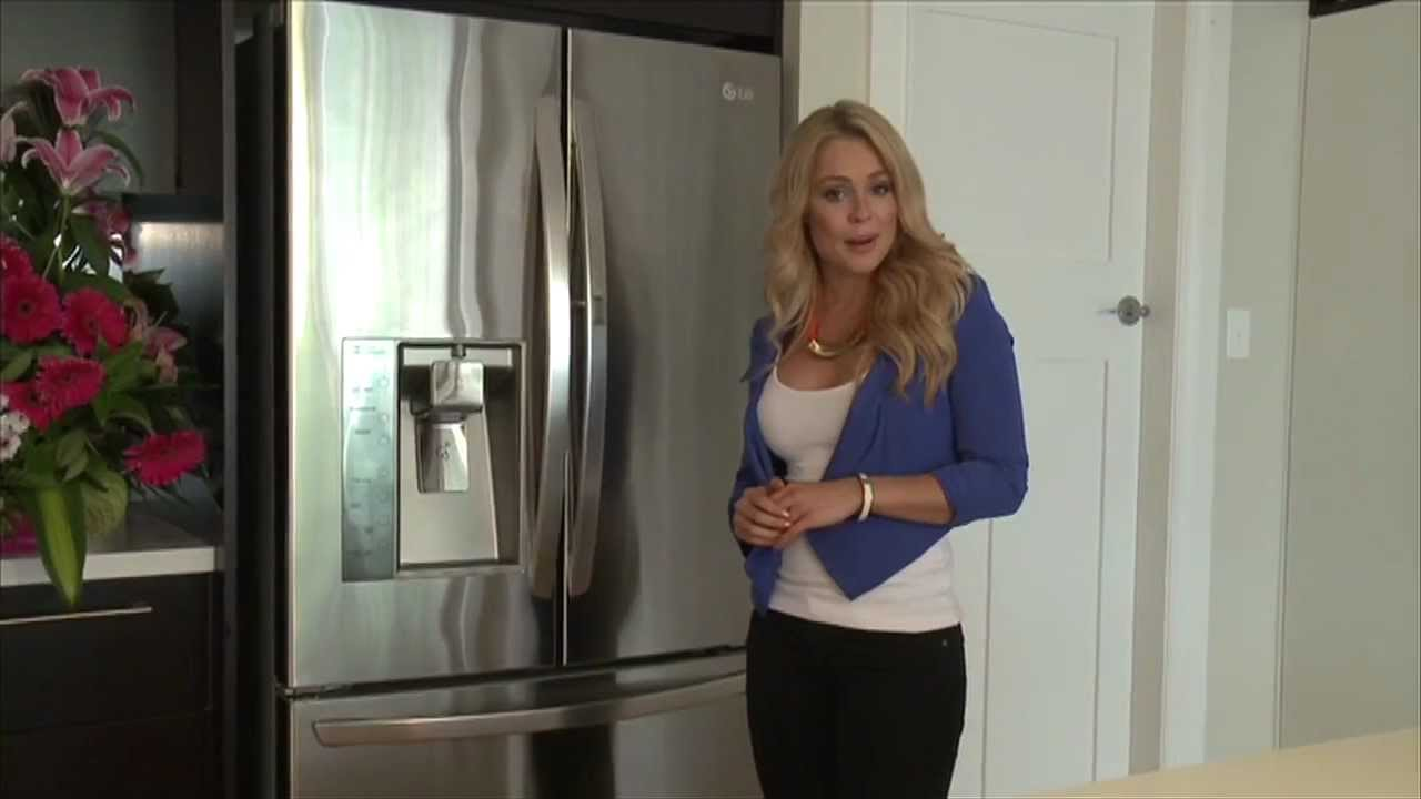 LG French Door Refrigerator - Door In Door Fridge Review ...