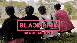 [KPOP DANCE IN PUBLIC CHALLENGE] BLACKPINK MEDLEY (2016-2018) MALE VERSION COVER BY INVASION BOYS