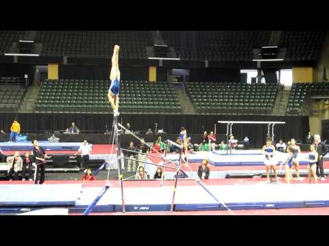 Kyla Ross - 2012 Kellogg&#039;s Pacific Rim Championships Podium Training - Uneven Bars