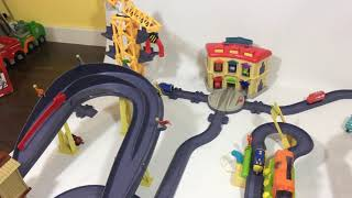 🚂 8 Chuggington Die-cast StackTrack Giant Track set Wilson Brewster Koko TOMY    Keith's Toy Box